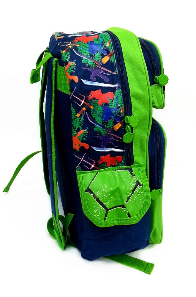NINJA TURTLES GREEN 16 inches SCHOOL BAG-5540