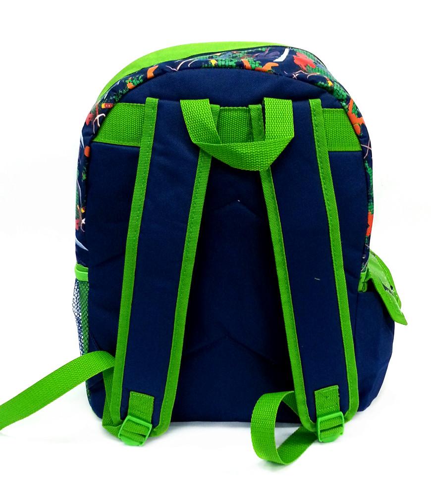 NINJA TURTLES GREEN 16 inches SCHOOL BAG-5539