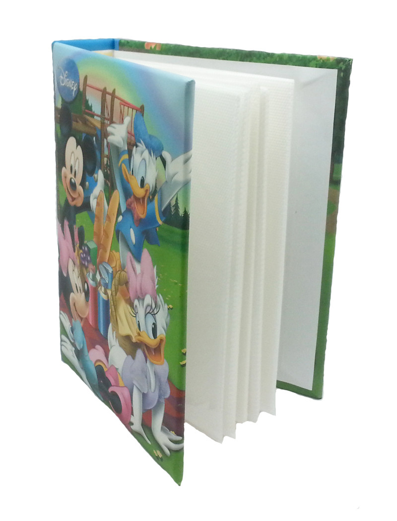 DISNEY MICKEY MOUSE & FRIENDS PHOTO ALBUM WITH FRAME SET-7732