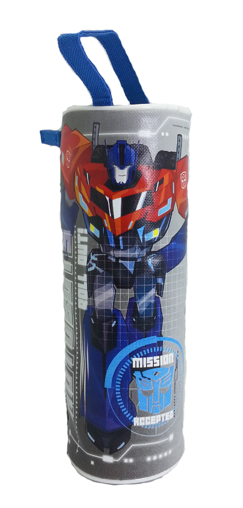 TRANSFORMER AUTOBOT ROLL OUT ROUND PENCIL BAG-7984
