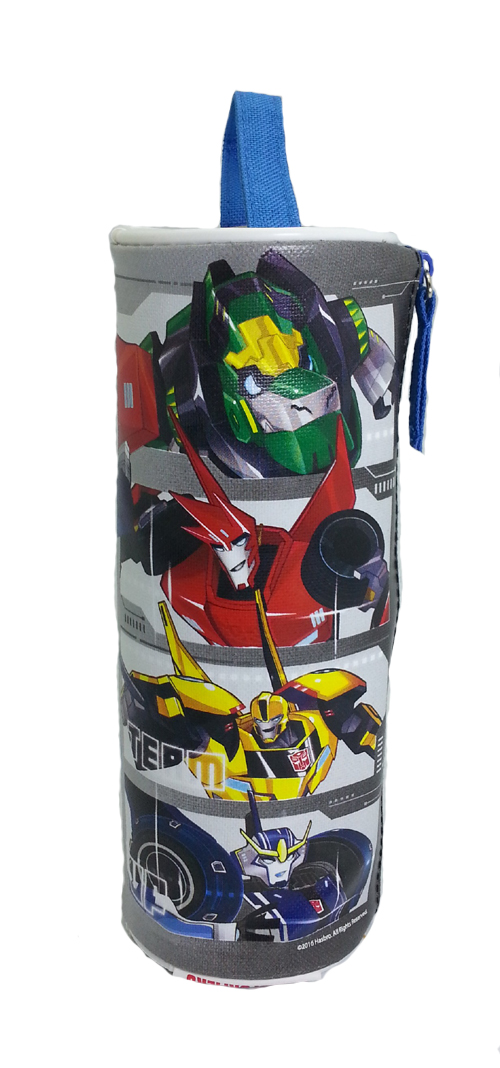 TRANSFORMER AUTOBOT ROLL OUT ROUND PENCIL BAG-7983