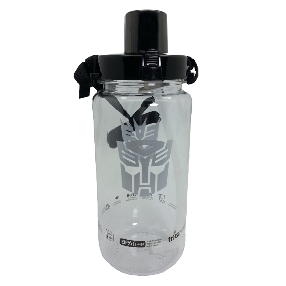 TRANSFORMERS LOGO 1500ML TRITAN BOTTLE * BPA FREE-0