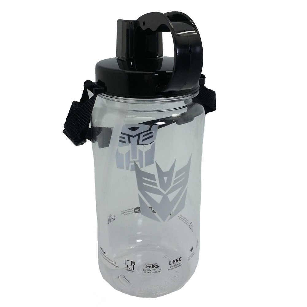 TRANSFORMERS LOGO 1500ML TRITAN BOTTLE * BPA FREE-11552