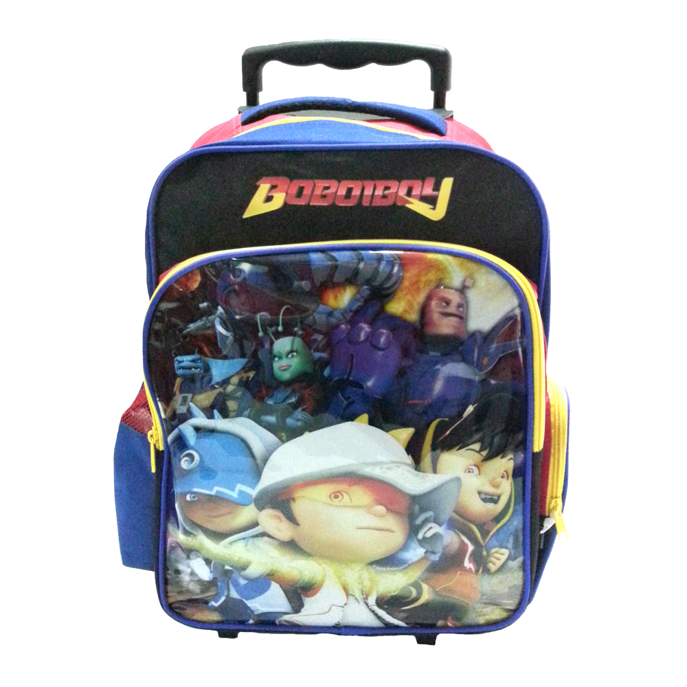 BOBOIBOY GALAXY SCHOOL TROLLEY BAG-0