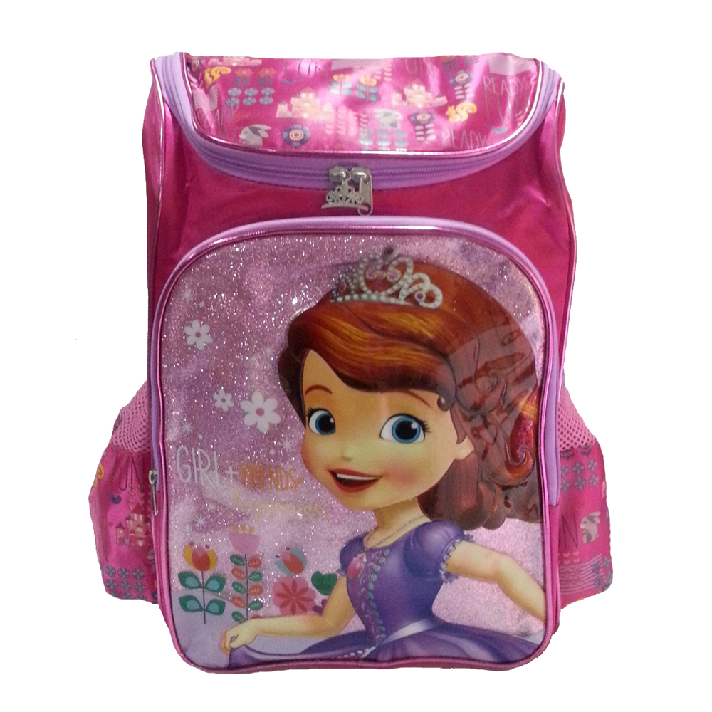 DISNEY SOFIA THE FIRST HAPPINESS SCHOLL BAG-0