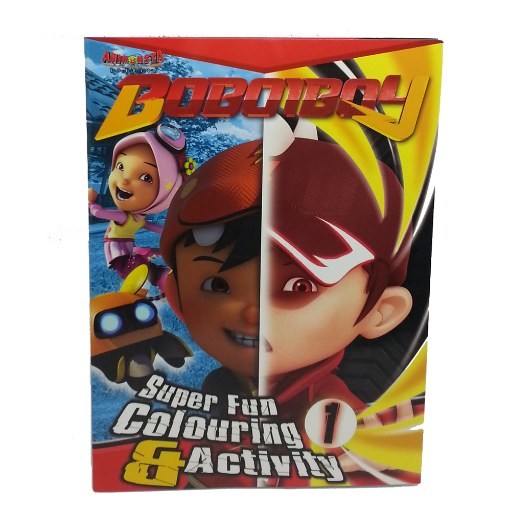 BOBOIBOY COLORING & ACTIVITY BOOK 1-0