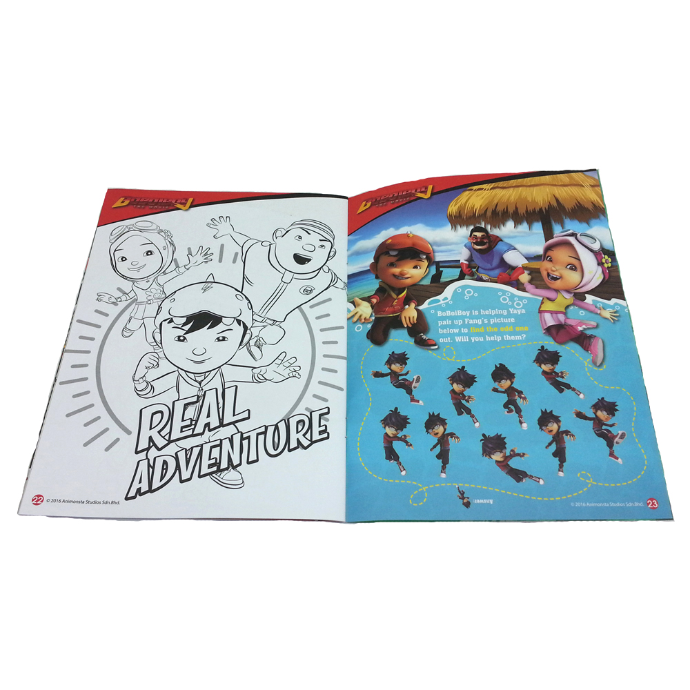 BOBOIBOY COLORING & ACTIVITY BOOK 1-11850