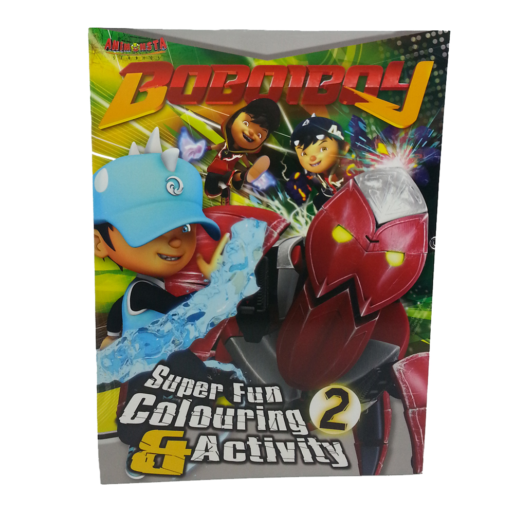 BOBOIBOY COLORING & ACTIVITY BOOK 2-0