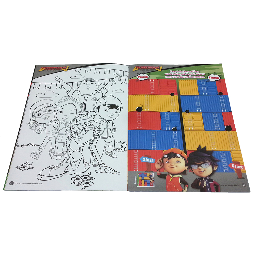 BOBOIBOY COLORING & ACTIVITY BOOK 2-11853