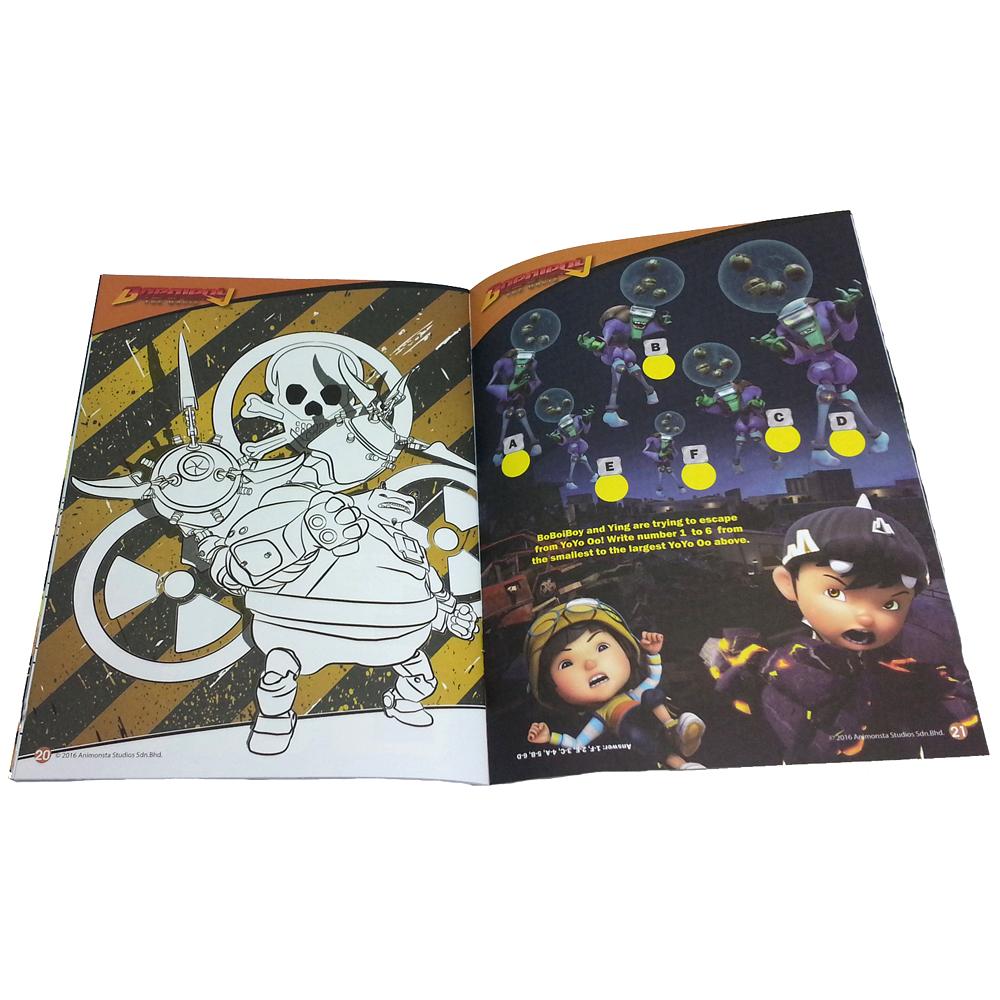 BOBOIBOY COLORING & ACTIVITY BOOK 3-11854