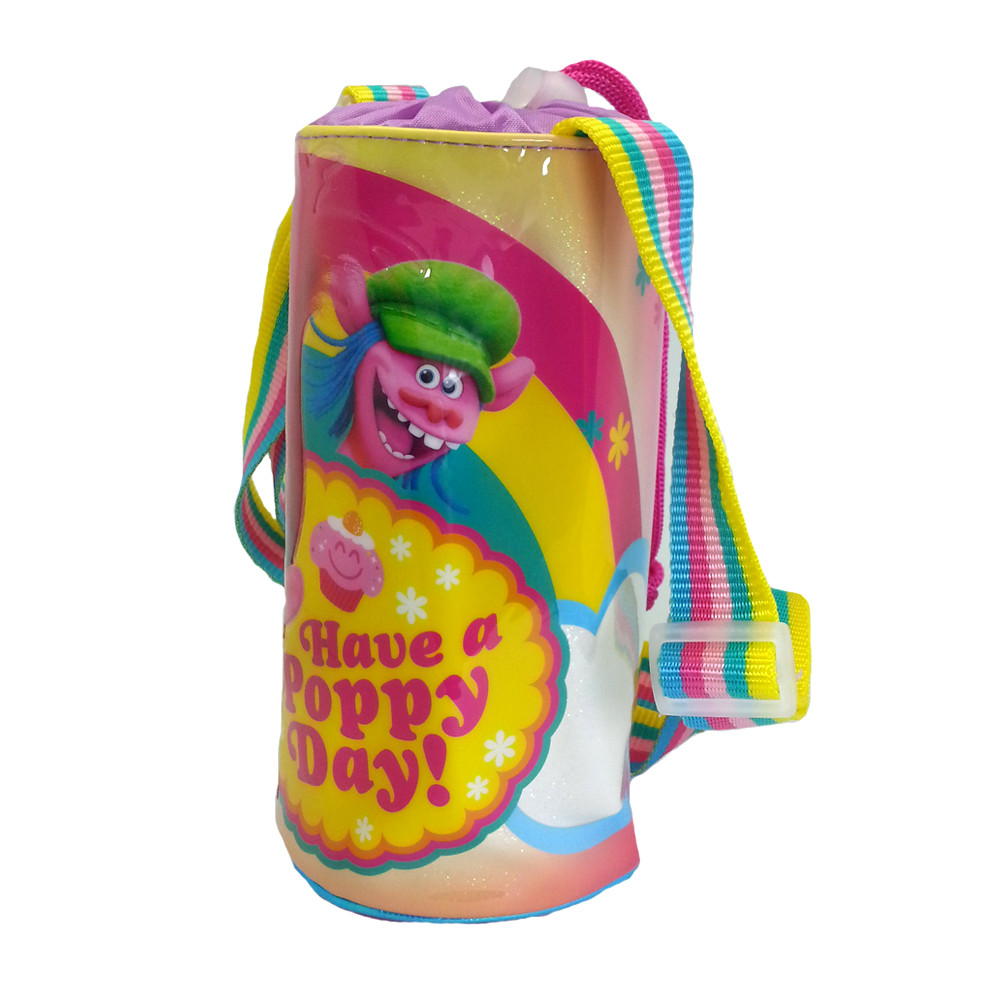 TROLLS POPPY DAY WATER BOTTLE HOLDER-10423
