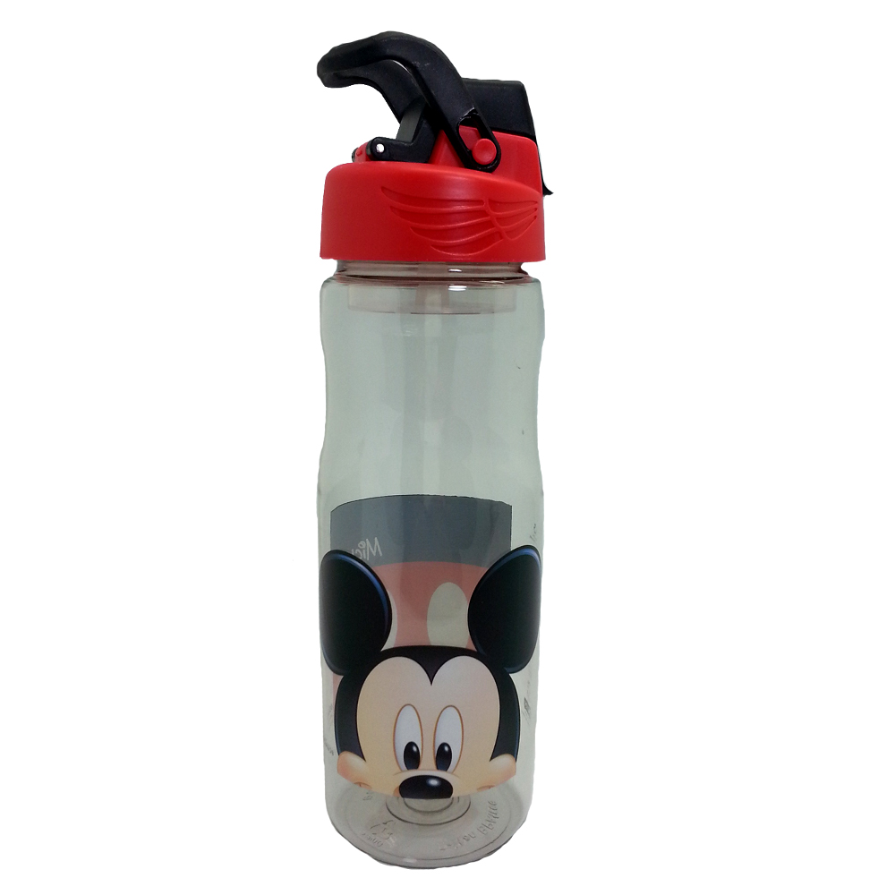 DISNEY MICKEY MOUSE HEAD 650ML TRITAN BOTTLE BPA FREE-0
