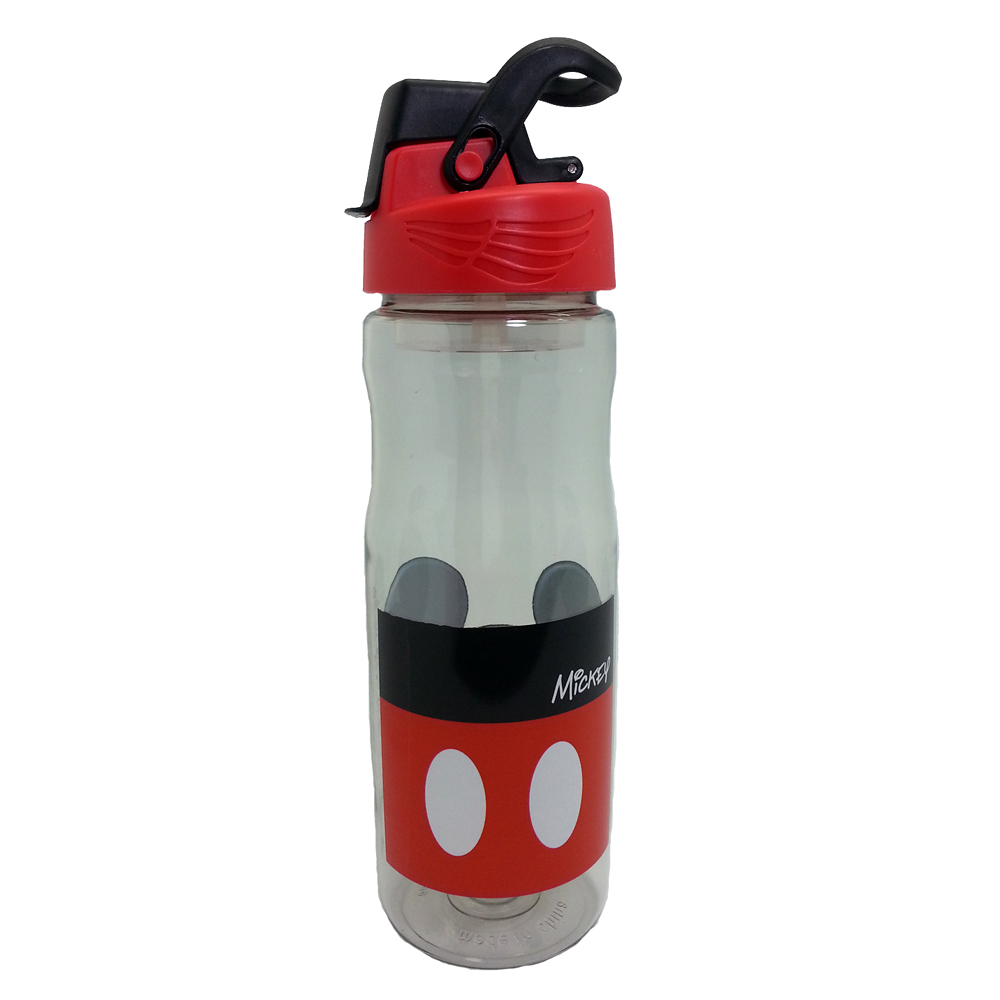 DISNEY MICKEY MOUSE HEAD 650ML TRITAN BOTTLE BPA FREE-12857