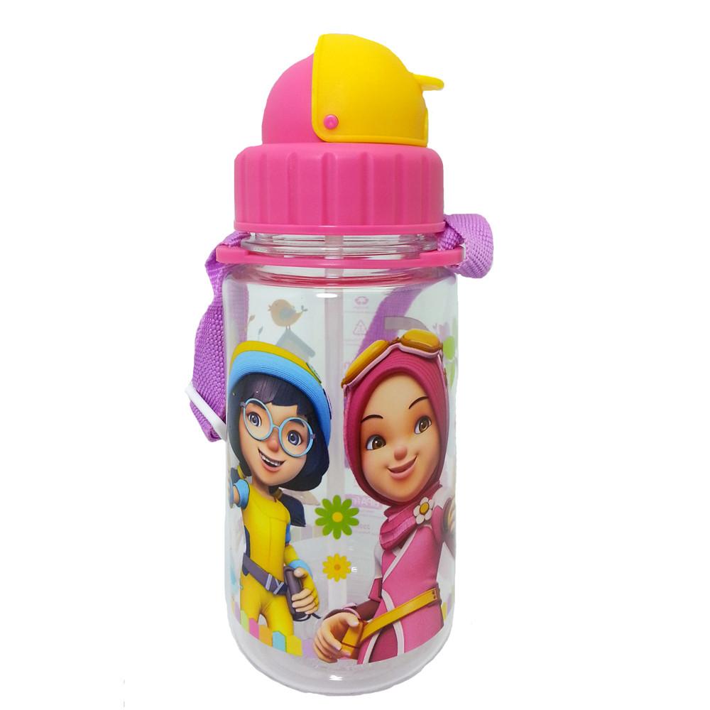 BOBOIBOY YAYA & YING 350ML TRITAN BOTTLE * BPA FREE-0