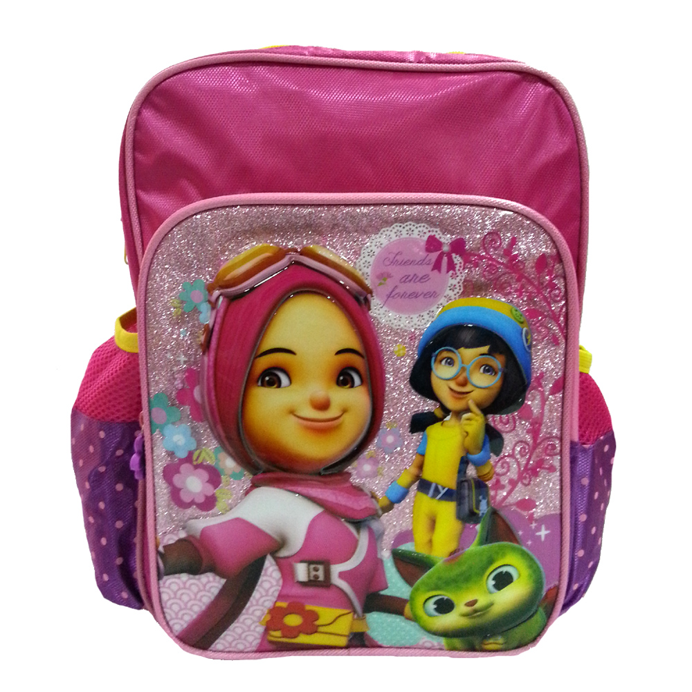BOBOIBOY YAYA & YING FRIENDS 12 INCH KIDS BACKPACK-0