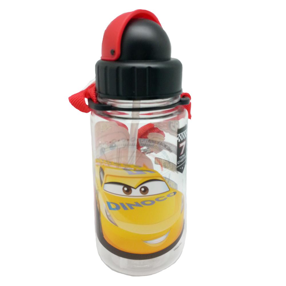 DISNEY CARS 3 350ML TRITAN BOTTLE WITH STRAW * BPA FREE-13008